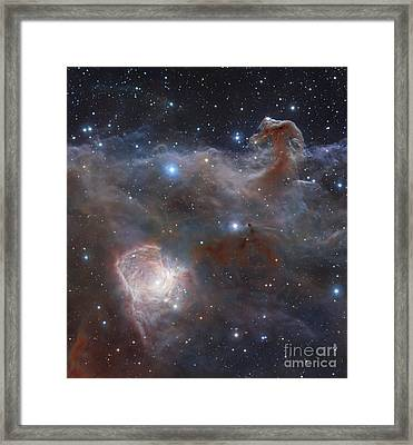 The Star-forming Region Ngc 2024 Framed Print by Robert Gendler