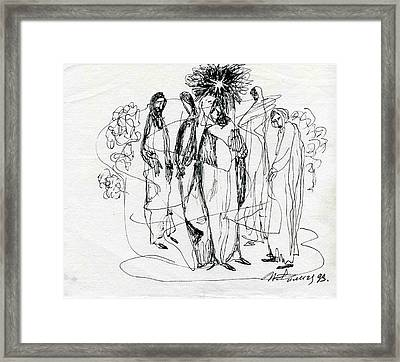 The Star Has Risen Framed Print by Ivan Filichev
