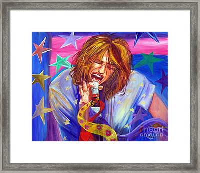 The Star Is Born Framed Print by To-Tam Gerwe