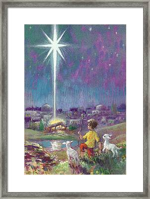 The Star Of Bethlehem  Framed Print by Stanley Cooke