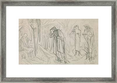 The Star Of Bethlehem Framed Print by Sir Edward Burne-Jones