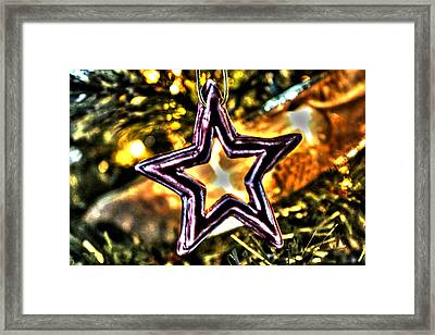 The Star Framed Print by Ric Potvin