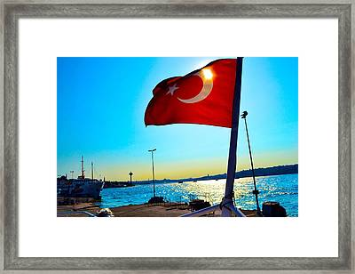 The Star The Moon And The Sun Framed Print
