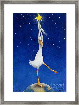 The Starcatcher... Framed Print by Will Bullas