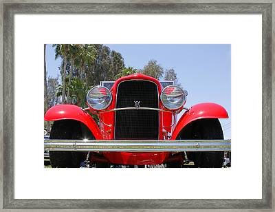 Framed Print featuring the photograph The Stare Of A V8 by Shoal Hollingsworth