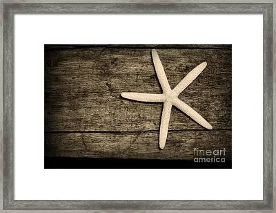 The Starfish Framed Print by Paul Ward