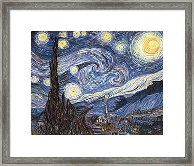 The Starry Night Framed Print
