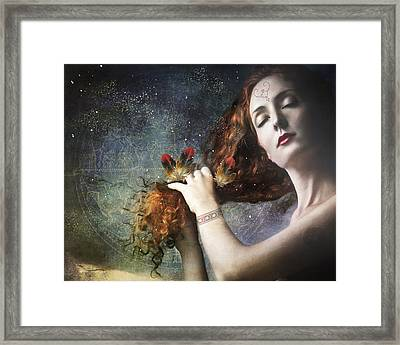 The Stars Are My Home Framed Print