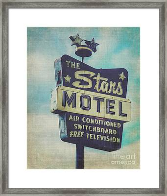 The Star's Motel In Chicago Framed Print by Emily Kay