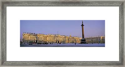 The State Hermitage Museum St Framed Print by Panoramic Images