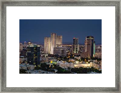 The State Of Now Framed Print by Ron Shoshani