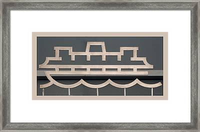 The Staten Island Ferry Framed Print by Rob Hans