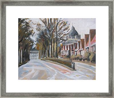 The Statensingel In Maastricht Framed Print