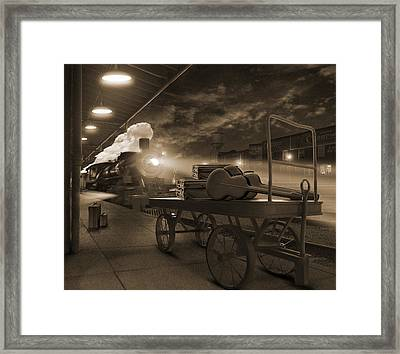 The Station 2 Framed Print by Mike McGlothlen
