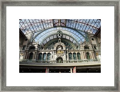 The Station Framed Print
