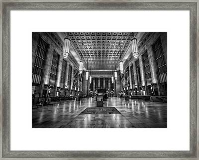 The Station Framed Print by Rob Dietrich