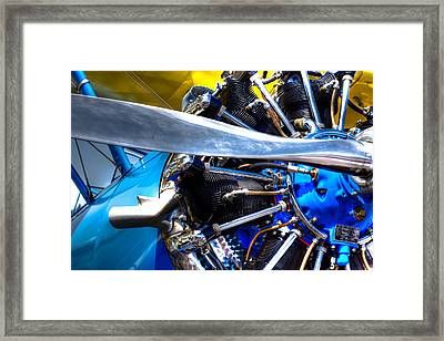 The Stearman Jacobs Aircraft Engine Framed Print