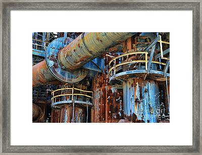 The Steel Mill Framed Print