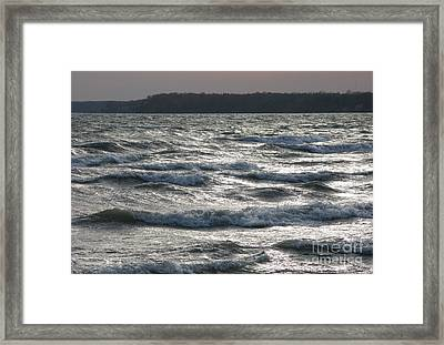 The Steel Sea Framed Print by Michael Swanson