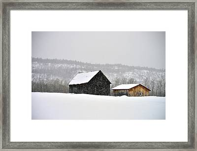 The Steele Line Framed Print by Joshua McCullough