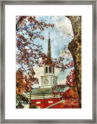 The Steeple Framed Print by Darren Fisher