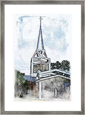 The Steeple Framed Print by Davina Washington