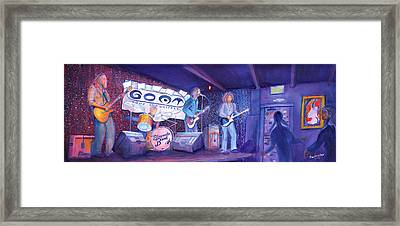 The Steepwater Band Framed Print