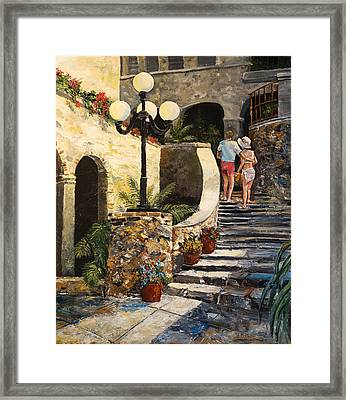 The Steps Framed Print by Alan Lakin