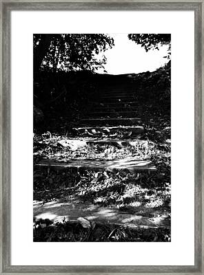 The Steps Framed Print by BandC  Photography