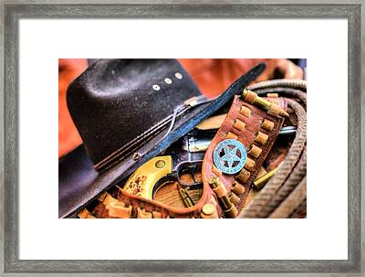 The Stetson Framed Print by JC Findley
