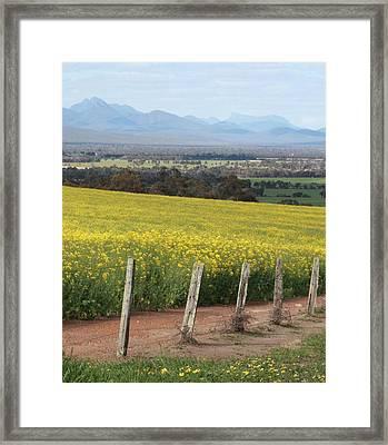 The Stirling Range Framed Print