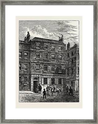 The Stone House Knightrider Street. From A Print In The Framed Print by English School