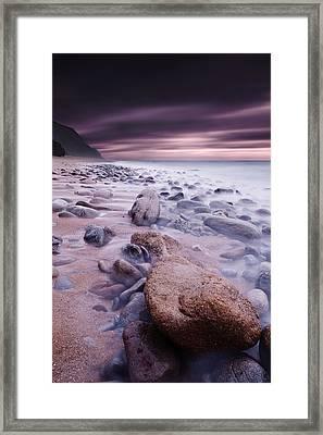 The Stone Land Framed Print