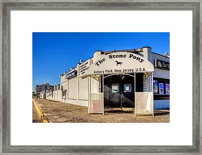The Stone Pony Asbury Park New Jersey Framed Print