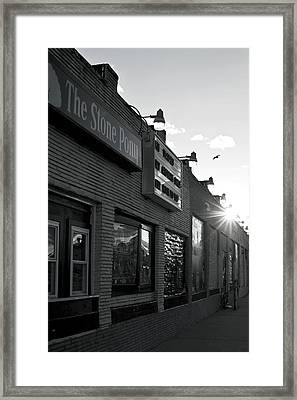 The Stone Pony Asbury Park Side View Framed Print