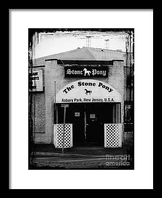 Signage Framed Prints