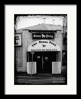 Stone Pony Framed Prints