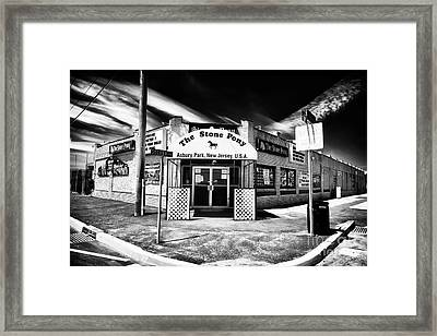 The Stone Pony Framed Print