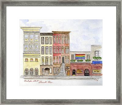 The Stonewall Inn Framed Print