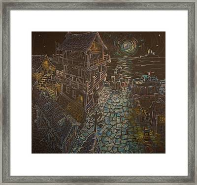 The Store Framed Print by Joseph Hawkins