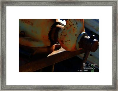 The Stories I Could Tell Framed Print by Naomi Richmond