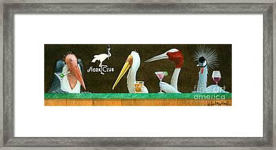 The Stork Club... Framed Print