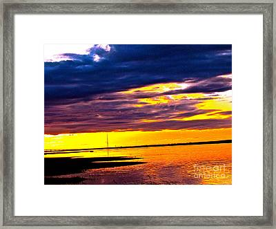 The Storm  Framed Print by Q's House of Art ArtandFinePhotography