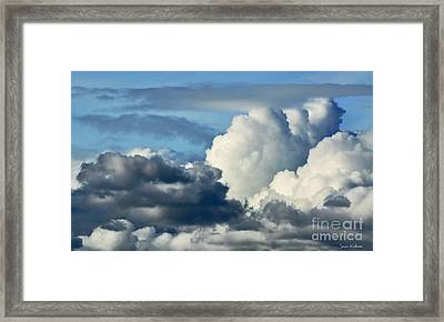 The Storm Arrives Framed Print