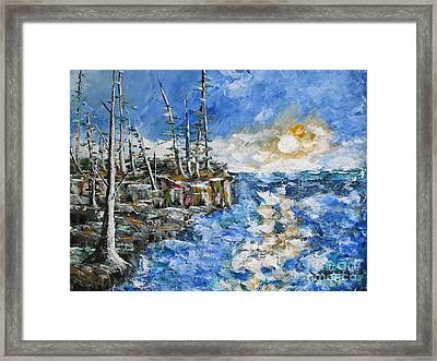 The Storm Framed Print by Beverly Livingstone