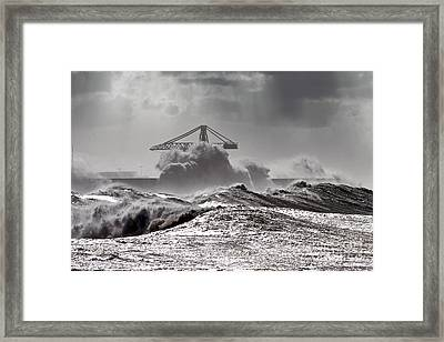 The Storm Framed Print by Boon Mee
