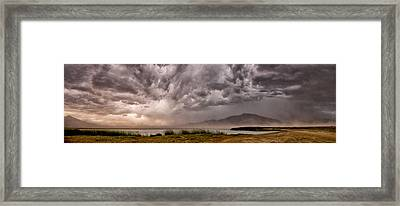 The Storm Framed Print by Cat Connor
