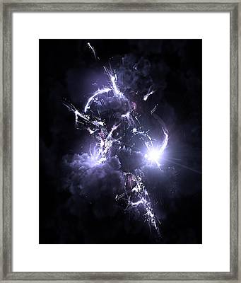 The Storm Framed Print by George Smith