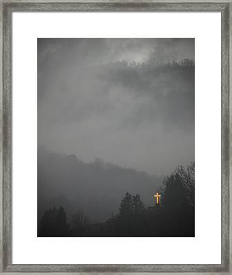 The Storm Is Over Framed Print by Ed Kelley
