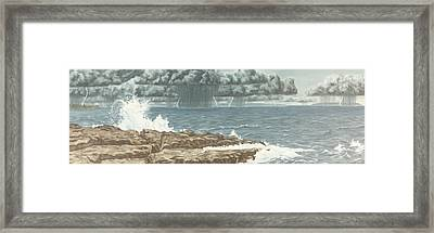 The Storm Framed Print by Michael Marcotte